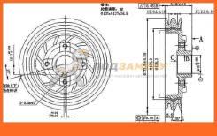 Шкив коленвала MITSUBISHI DELICA/L300 4D56 (2 ручейка) 86-94 SAT / STMD109604