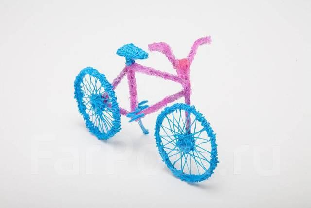 3Д ручка 3D 2 поколение, трафарет + Пластик Китай Город 120 Бутик