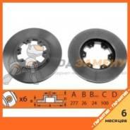 Тормозной диск NIBK / RN1028. Гарантия 6 мес.