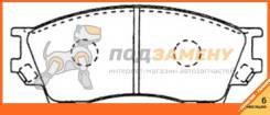 Колодки тормозные дисковые передние AKYOTO / AKD5334.