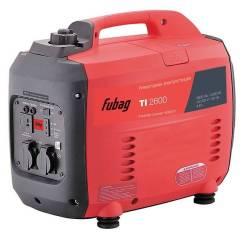 """Электрогенератор бензиновый """"Fubag"""" TI 2600 2,3 кВт, 230/12В, расход 1,5л/час, бак-4,6л, 26кг"""