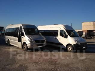 Аренда автобусов 20 посадочных мест по городу и краю