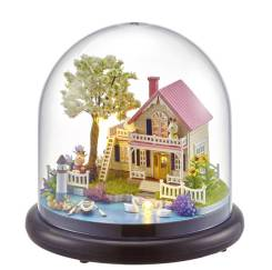 Миниатюрные дома - прекрасный подарок для творчества