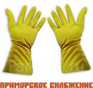Перчатки латексные.
