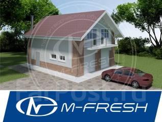 M-fresh Gardiiis! (Покупайте сейчас проект со скидкой 20%! ). 100-200 кв. м., 1 этаж, 3 комнаты, бетон