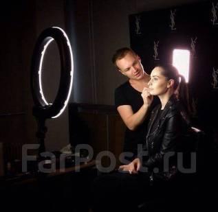 Кольцевая LED лампа для визажистов, фотографов, парикмахеров