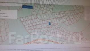 """Земельный участок 10 соток напротив """"ЮНГА"""". 1 000 кв.м., собственность, от частного лица (собственник). Схема участка"""