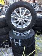 Калёса шины+литьё на 17 5-114,30. Toyota RAV-4. 225/65R17 зима 11 г. 7.0x17 5x114.30 ET50