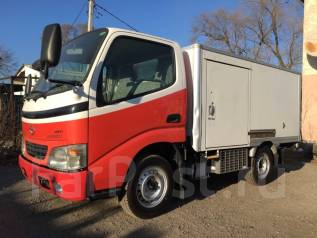 Toyota ToyoAce. Грузовой-рефрижератор Toyota-Toyoace,4WD, 2 500 куб. см., 1 500 кг.