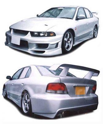 Обвес кузова аэродинамический. Mitsubishi Galant, EA1A, EA3A, EA7A, EA_A, EA_W, EC1A, EC3A, EC5A, EC7A, EC_A, EC_W Двигатели: 4D68, 4G63, 4G64, 4G93...
