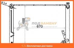Радиатор TOYOTA HARRIER 2AZ-FE 03-06 SAT / TY0003ACU30