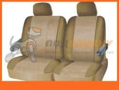 Чехлы на средний или задний ряд сидений из велюра серия для микроавтобусов и минивэнов поролон ISKY iSV-SP-02BE ISKY / ISVSP02BE