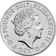 * Великобритания 5 фунтов 2017 His Royal Highness The Duke of Edinburg