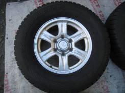 Продам зимние шины 265/70R16 на литых дисках № 37. x16 6x139.70 ET26
