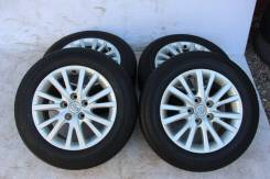 Колёса с шинами =Toyota Mark X= R16! 2013 год! Более 7мм (№ 66436). 7.0x16 5x114.30 ET40