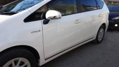 Накладка на зеркало. Toyota Prius a, ZVW41W, ZVW40W Двигатель 2ZRFXE