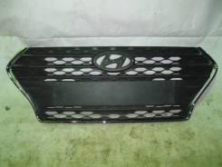 Решетка радиатора. Hyundai Solaris, HCR Двигатели: G4LC, G4FC
