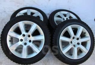 Колёса с шинами =Nissan= R17! 2014 год! Более 9 мм! (№ 67397). 7.5/8.0x17 5x114.30 ET30/33