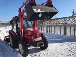 Yanmar. Продам трактор с функцией фронтального погрузчика, фреза