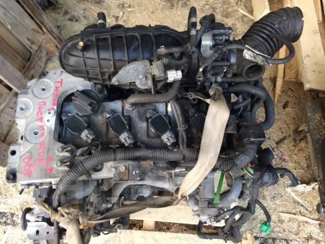 Двигатель в сборе. Nissan Teana, J32, J32R, PJ32, TNJ32 Nissan X-Trail, DNT31, NT31, T31, T31R, TNT31 Двигатели: QR25DE, QR25