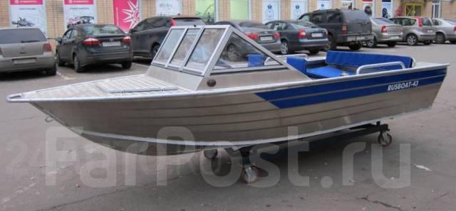 Rusboat. 2018 год год, длина 4,30м., двигатель подвесной, 40,00л.с., бензин