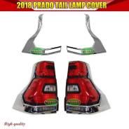 Накладка на стоп-сигнал. Toyota Land Cruiser Prado, GDJ150L, KDJ150L, TRJ150W, TRJ150, GDJ150W, GRJ150, GRJ150W, GRJ150L, TRJ12, GDJ151W Двигатели: 1G...