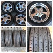 265/50R20 toyo t1 sport SUV 95% лето с литьем work LS - GX460. 8.0x20 6x139.70 ET25
