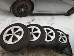 Комплект колёс, на литых дисках,195/65R15. x15 5x100.00 ЦО 58,0мм.
