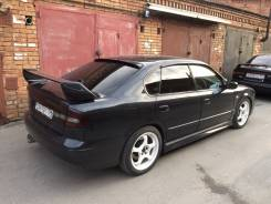 Спойлер на заднее стекло. Subaru Legacy, BE9, BES, BE5, BEE