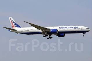 Модель самолёта Boeing-777-300ER 1/144 Звезда + доп декаль Трансаэро