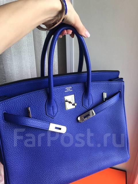 a8a1f6a6ebf1 Сумка Hermes Birkin цвет Electruc blue , 35 см - Аксессуары и ...