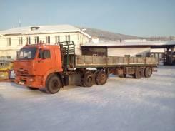 Камаз 6460. Продаётся седельный тягач Камаз-6460 с полуприцепом МАЗ, 11 740 куб. см., 30 000 кг.