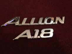 Эмблема. Toyota Allion, ZZT240, AZT240, ZZT245, NZT240 Двигатели: 1ZZFE, 1AZFSE, 1NZFE