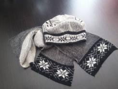 Шапка и шарф. 56, 57, 55-59, 59, 60, 61, 62, 63, 64