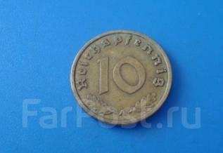 Германия 10 пфеннигов(рейхспфеннигов) 1938 год (12)
