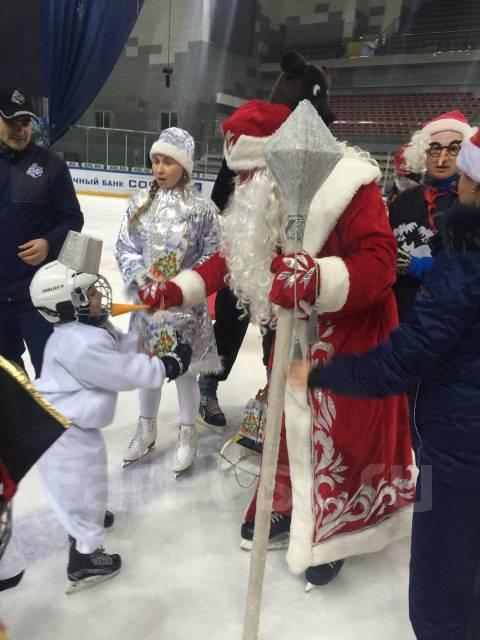 Поздравления Дед Мороз и Снегурочка