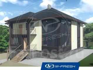 M-fresh Complex (Готовый проект просторного большого коттеджа! ). 400-500 кв. м., 2 этажа, 7 комнат, бетон