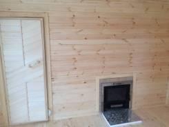 Строю бани, фасад, утепление дома