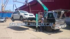 Услуги эвакуатор Грузоперевозки бортовым с краном манипулятором 5 тонн