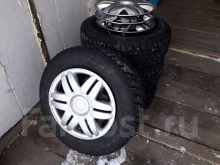 Michelin. Зимние, шипованные, износ: 10%, 4 шт