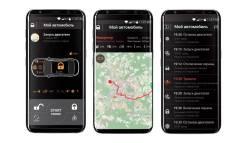 Автосигнализации с автозапуском Toyota Prius, Honda FIT/Gibrid, Pandora
