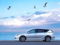 Штатные диски Toyota Caldina с резиной Triangle PL01 205/50 R17. 7.0x17 5x100.00 ET45 ЦО 54,1мм.