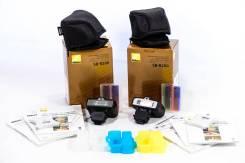 Вспышки Nikon SB-R200 и комплект колпаков-рассеивателей для них