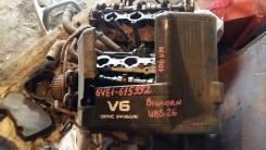 Двигатель в сборе. Isuzu Bighorn, UBS26GW, UBS26DW Двигатель 6VE1