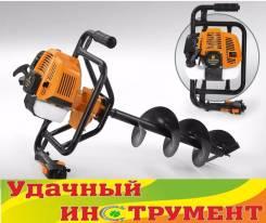 Мотобур Carver AG-52/000,52см3, 1,9кВт, 6500 об/мин,9,2кг