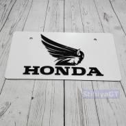 Табличка. Honda