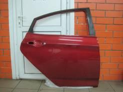 Дверь задняя правая оригинальная Hyundai Solaris [цвет красный TDY]
