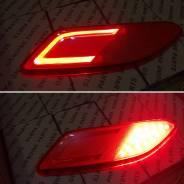 Диодный Катафоты, рефлектор в задний бампер. Led. Honda Vezel
