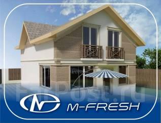 M-fresh Jamaica Plus! -зеркальный (Терраса, витраж, мансарда). 200-300 кв. м., 2 этажа, 5 комнат, бетон
