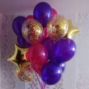 Украшение воздушными шарами! Низкие ЦЕНЫ